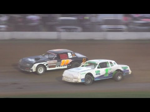 Pure Stock Heat Two | McKean County Raceway | Fall Classic | 10-15-16