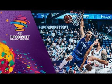 France v Finland - Highlights - FIBA EuroBasket 2017
