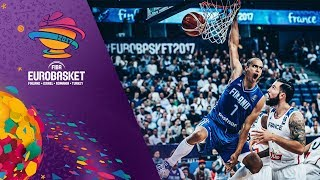 France v Finland - Highlights - FIBA EuroBasket 2017