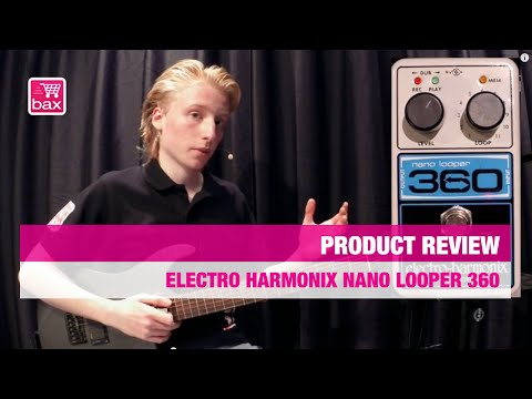 Review Electro Harmonix Nano Looper 360 EN