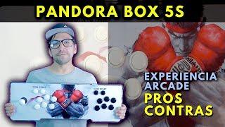 PANDORA BOX 5S  999 juegos -  Experiencia Arcade  | Pros y Contras