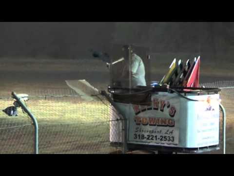 Ark La Tex Speedway Begginer cruiser heat race 9/26/15