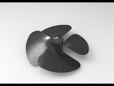 Fan Blade Design In Solidworks Tutorial
