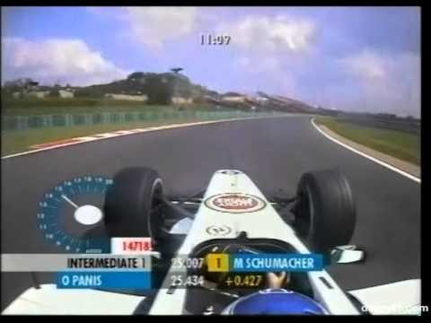 F1 Hungaroring 2001 - Olivier Panis Onboard
