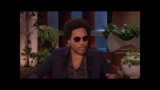 Ellen and Lenny Kravitz Discuss Design on Ellen show