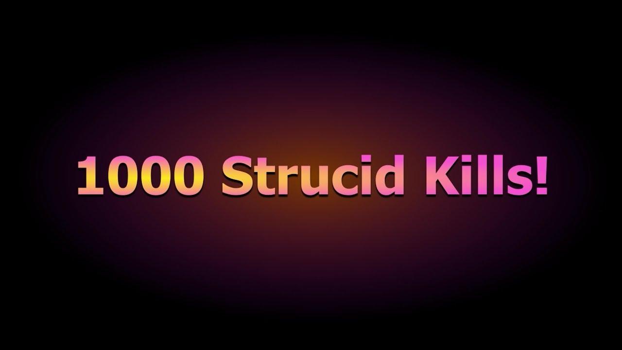 Strucid Getting To 1000 Kills! - YouTube