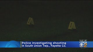 Uniontown Shooting Under Investigation