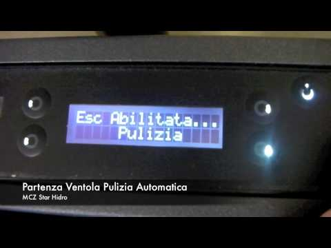Pulizia Automatica stufa a pellet Star Hydro MCZ