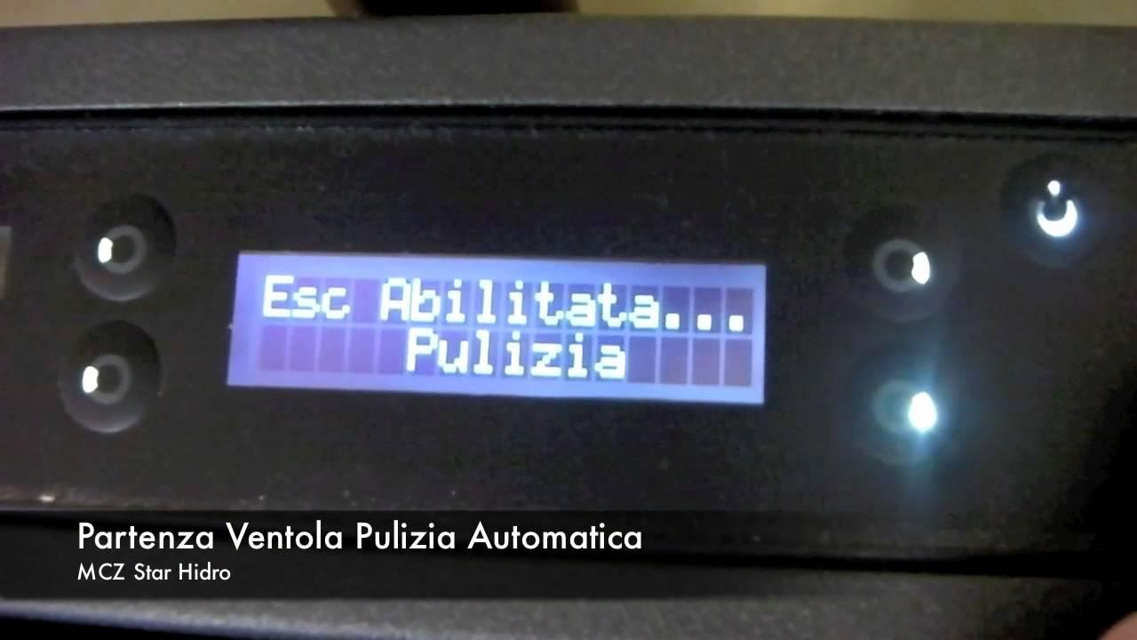 Pulizia Automatica stufa a pellet Star Hydro MCZ  YouTube