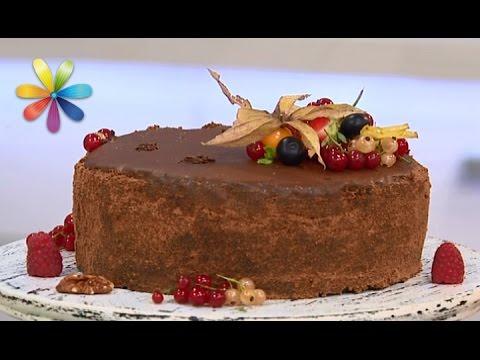Рецепт Шоколадный торт с лимоном от кулинарной легенды Дарьи Цвек  Все буде добре. Выпуск 879 от 14.09.16