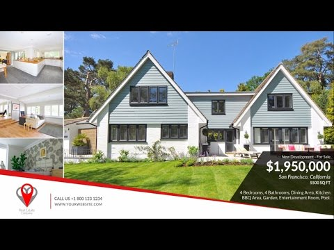Real Estate Presentation Video - After Effects Template