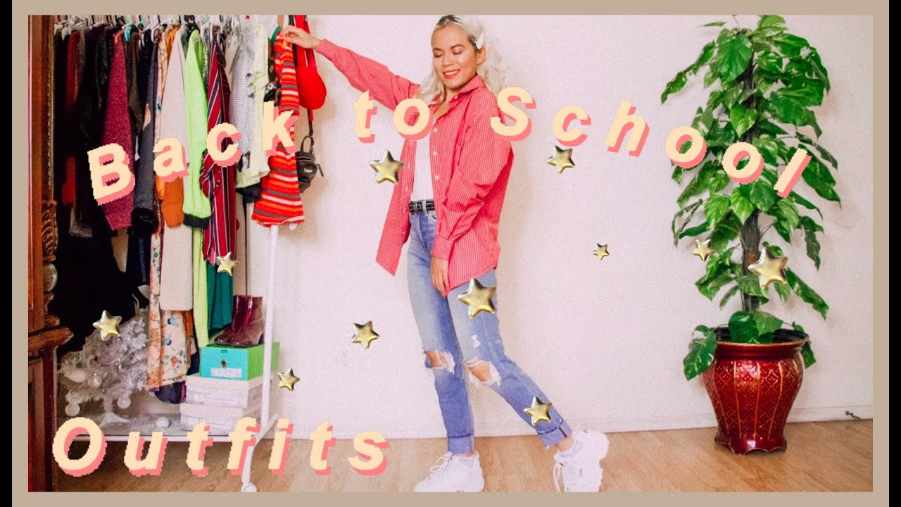 20 BACK TO SCHOOL OUTFIT IDEAS 2019!   Back to School lookbook 7
