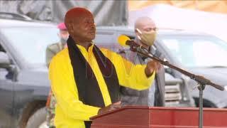 EBYAMMWE NZE ABISOBOLA: Museveni asabye akalulu mu bavubuka e Bugisu