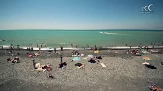 Пляж Сукко(Пляжи в Сукко - галечные, морская вода чистая и прозрачная, в межсезонье галька промывается штормами и на..., 2014-04-28T18:09:08.000Z)