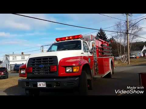 Structure fire Grand Manan