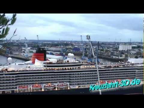 NDR berichtet über Cunard Day in Hamburg und ist mit Live-Bühne vor Ort vertreten (HD / 2D)
