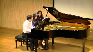 Tchaikovsky - Swan Lake Suite arr. for piano four-hands by Tatiana Malinin-Fedkina