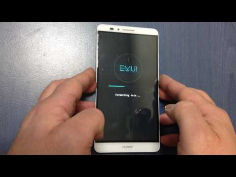 Huawei Ascend Mate 7 hard reset , unlock pattern , password reset