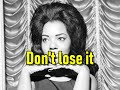 Prove It   Mary Wells  (lyrics)