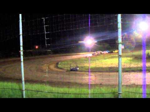 281 speedway street stock heat race 9/13/2014