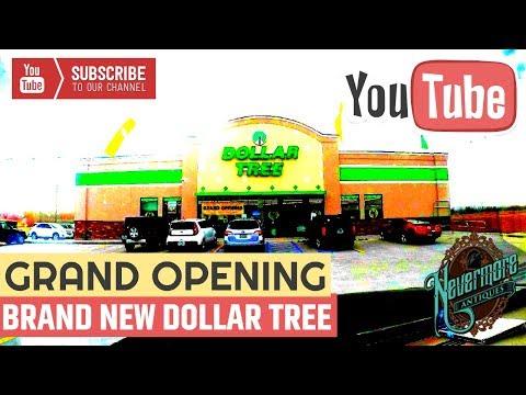 New Stuff At Dollar Tree | Dollar Tree Grand Opening