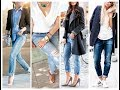 How to be stylish in ripped jeans