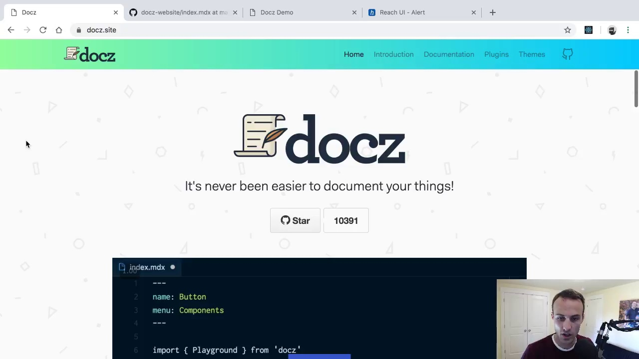 Intro to Docz: Amazingly easy and powerful documentation