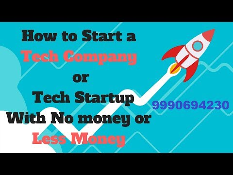 How to Start a Tech Startup or Tech Company in India