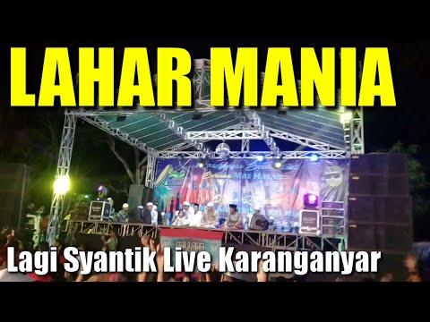 Syantik versi Lahar Mania Karang Anyar Bersholawat