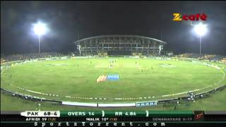 Cricket 2012 2nd T20I Pakistan V Srilanka DK pAkistan Innings --- HD Cricket @  Sportztorrent.com