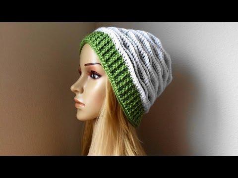 How To Crochet A Hat, Lilu's Handmade Corner Video # 88