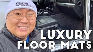 Luxury Quilted 3D Carpet Floor Liners for my Porsche Cayenne Review
