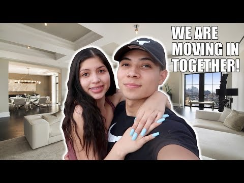 WE ARE MOVING OUT TOGETHER!!! (apartment hunting)