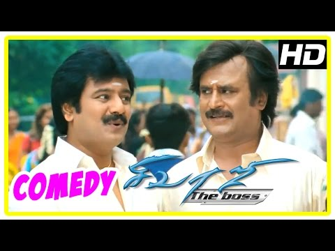 Sivaji Movie Comedy  | Full Movie Comedy...