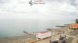 Веб камеры в Сочи. Адлер за 2017 год за 1 минуту