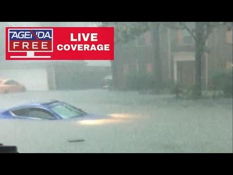 Major Flooding In Houston & SE Texas - LIVE COVERAGE