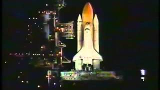 STS 103 Launch NASA Footage