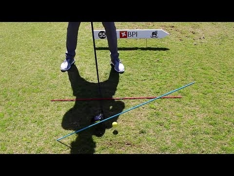 DRIVER HOW TO SWING MORE IN-TO-OUT (EASY DRILL!)
