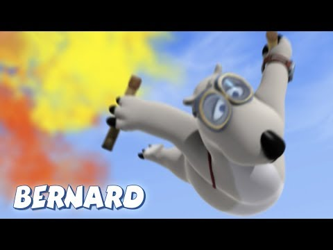 Bernard Bear | Sky Diving AND MORE | 45 min Compilation | Cartoons for Children