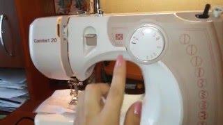 видео Швейная машинка Comfort 735