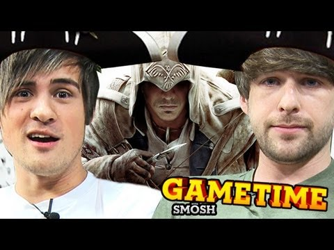 SHOOTIN MOFOS WITH A BOW Gametime w Smosh