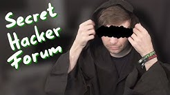 SECRET HACKER FORUM - The Place Where We Talk and Learn
