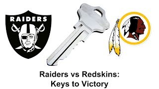 Raiders vs Redskins: Keys to Victory
