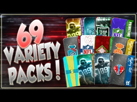 Madden Overdrive 69 Variety Pack Opening!! Ghost Of Madden, Flashback, UF & More!!