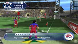 FIFA 2001 PS2 Gameplay HD