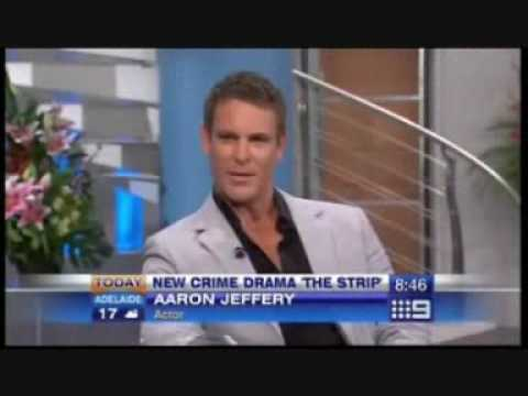 Aaron Jeffery &. Vanessa Gray on the Today