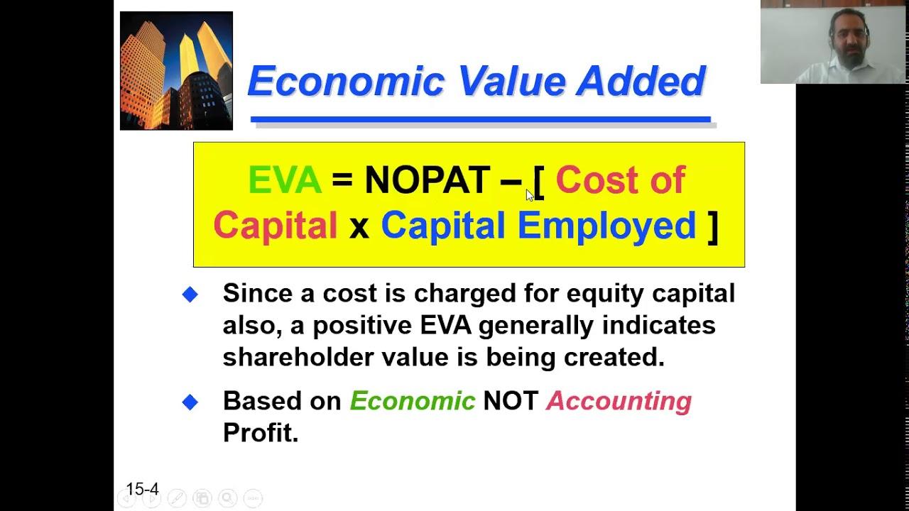 Economic Value Added (EVA) - YouTube