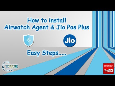 ✅How to install Airwatch Agent & JioPOS Plus🔥 - Thủ thuật
