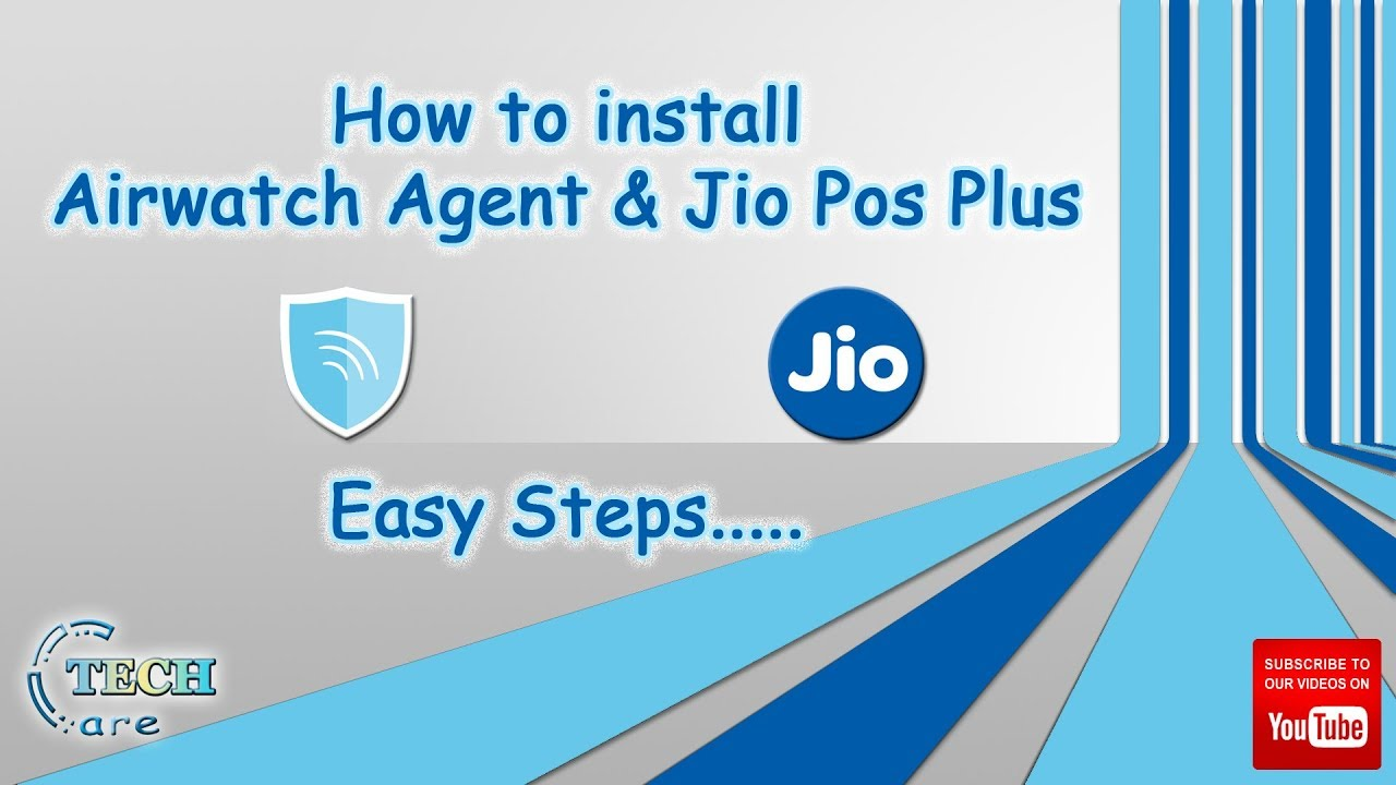 ✅How to install Airwatch Agent & JioPOS Plus🔥