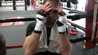 """PACQUIAO'S PUNCHES """"FELT LIKE BRICKS COMING AT YOU"""" ON SPARRING MANNY PACQUIAO"""